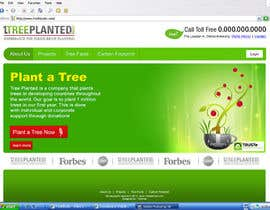 paalmee님에 의한 Website Design for 1 Tree Planted을(를) 위한 #153