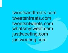 #35 para Create a domain name for a new twitter service por ImArtist