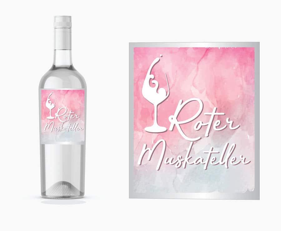 Proposition n°                                        11                                      du concours                                         wine bottle label design