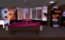 Basement Planing and Interior Design için 3D Modelling35 No.lu Yarışma Girdisi