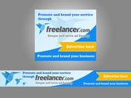 Graphic Design Inscrição do Concurso Nº125 para Banner Ad Design for Freelancer.com