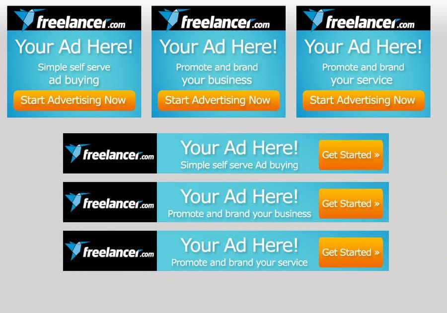 Inscrição nº                                         38                                      do Concurso para                                         Banner Ad Design for Freelancer.com