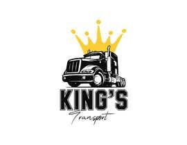 #109 for Logo design for trucking client af chouaibhabachi