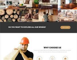 #47 for Create a website for a fine woodworking af tajenul