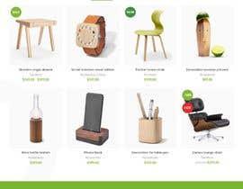 #87 for Create a website for a fine woodworking af tajenul