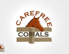 #4 for Logo Design for Carefree Corrals, a non-profit horse rescue. by rogeliobello