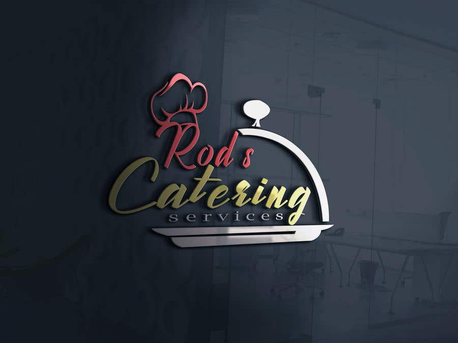 Entry #11 by stcserviciosdiaz for I need a logo. A catering services . I  want something simple. Easy to embroidery on shirt .. not too complicated  .....2 colors maximum ...   Freelancer