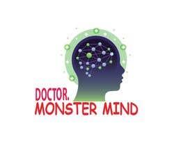 #49 for illustrative logo Dr.Monster Mind af nazma1996