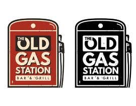 #66 untuk I need a cool trendy standout logo for THE OLD GAS STATION BAR AND GRILL oleh OpheliaStudio