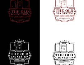 #76 untuk I need a cool trendy standout logo for THE OLD GAS STATION BAR AND GRILL oleh alfasatrya