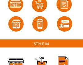 #26 for Design 20 icons (same style/look & feel) by faizulhassan1