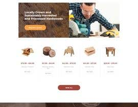 #53 for Create website for a fine woodworking by farabiislam888