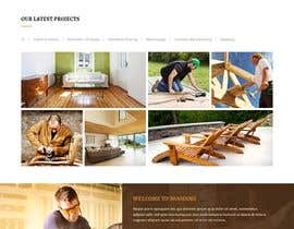#67 for Create website for a fine woodworking by polashsm