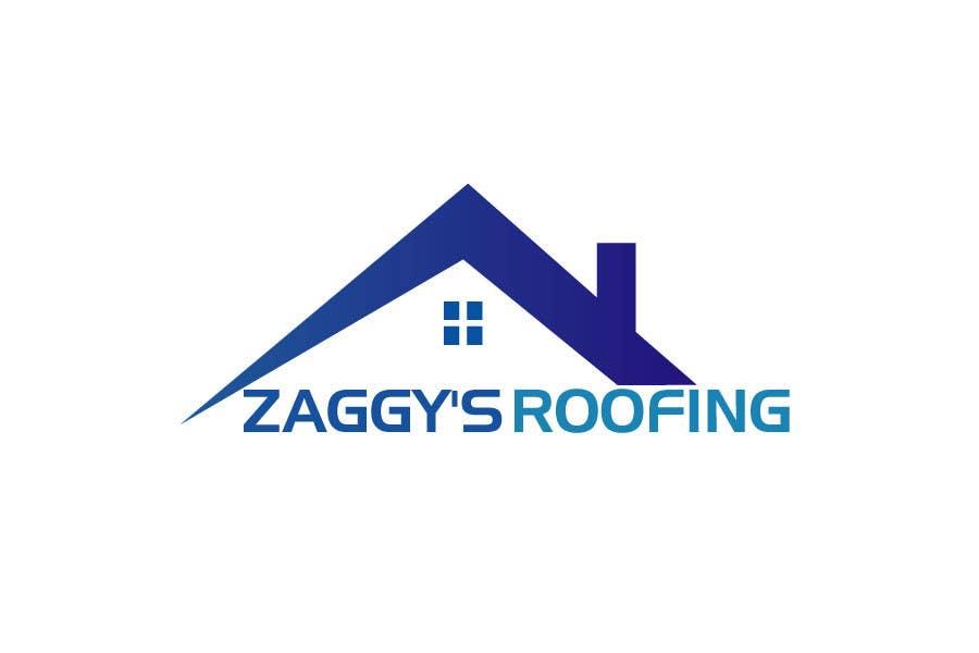 Penyertaan Peraduan #113 untuk Logo Design for Zaggy's Roofing