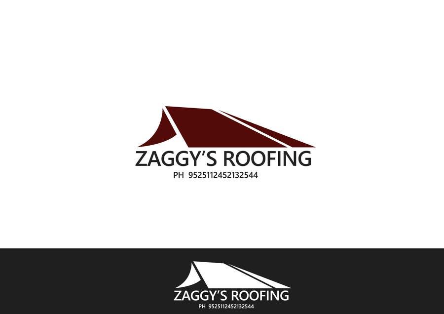 Inscrição nº 109 do Concurso para Logo Design for Zaggy's Roofing
