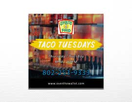 #38 untuk Create Instagram advertisement for Taco Tuesdays oleh luphy