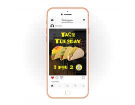 #21 untuk Create Instagram advertisement for Taco Tuesdays oleh andjelicnikola