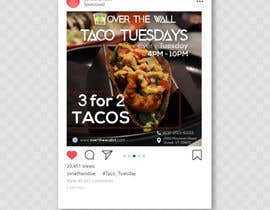 #24 untuk Create Instagram advertisement for Taco Tuesdays oleh ferdoushasan40