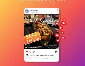 #26 untuk Create Instagram advertisement for Taco Tuesdays oleh ferdoushasan40