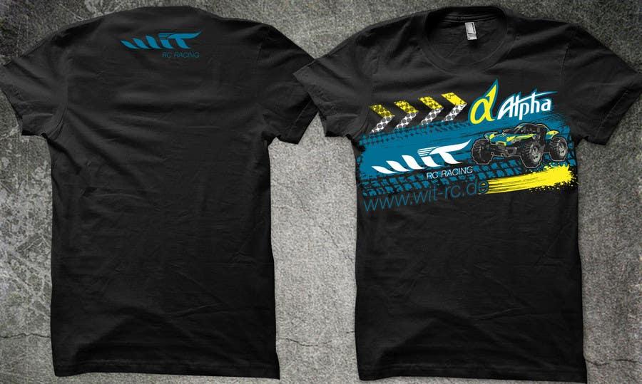 Konkurrenceindlæg #                                        8                                      for                                         T-shirt Design for a RC-Car Company
