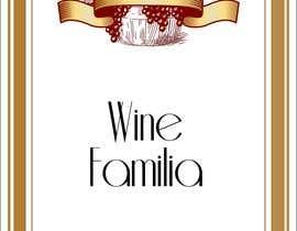 #72 for Wine re-brand - image - label - website by letindorko2