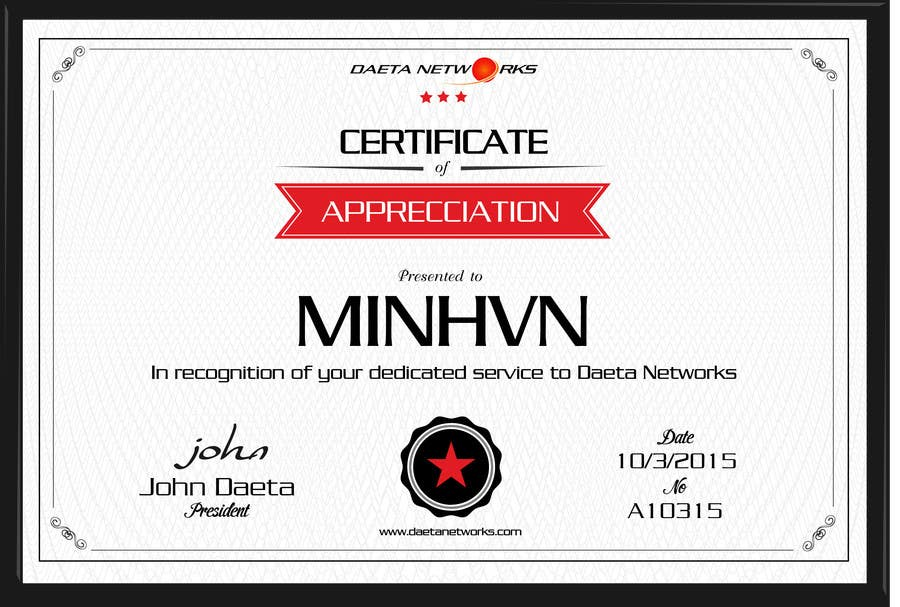 contest entry 17 for design a simple certificate for free it service