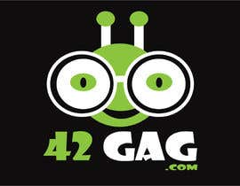 #59 para Logo Design for sciency but funny image site: 42gag.com por inspirativ