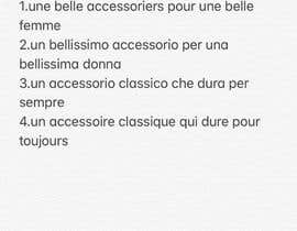 #20 for Name an accessory shop and give a slogan af hendrick2907