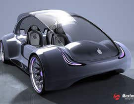 #167 for Create a design for the rumored Apple Electric Car by maximchernysh