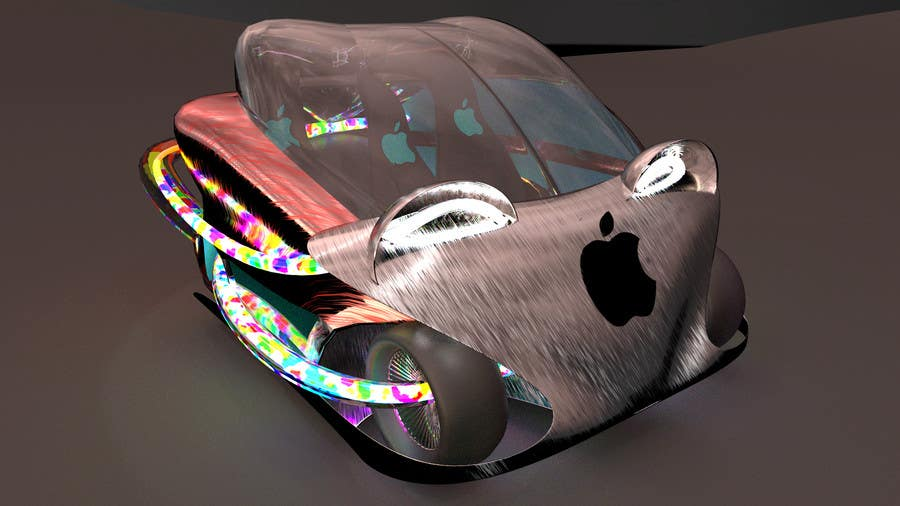 Contest Entry #                                        108                                      for                                         Create a design for the rumored Apple Electric Car