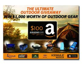 nº 41 pour OUTDOORS GIVEAWAY par irfananis07