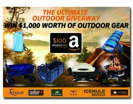 nº 53 pour OUTDOORS GIVEAWAY par irfananis07