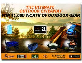 nº 54 pour OUTDOORS GIVEAWAY par irfananis07