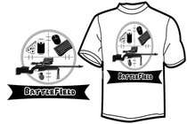 Proposition n° 52 du concours Graphic Design pour Battlefield Tactical Warfare Pack [Gaming] T-shirt Design