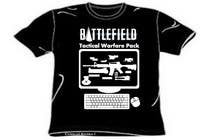 Proposition n° 7 du concours Graphic Design pour Battlefield Tactical Warfare Pack [Gaming] T-shirt Design