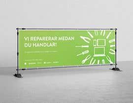 Nro 109 kilpailuun Design a banner for our repair  kiosk käyttäjältä maritamadso