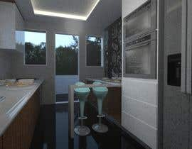 #12 para design a kitchen with island counter de abdomostafa2008