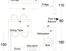 #18 para Kitchen plan de ssquaredesign