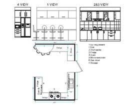 #32 para Kitchen plan de dhirajbarman661