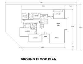 #32 for House Floor Plan by edabogado