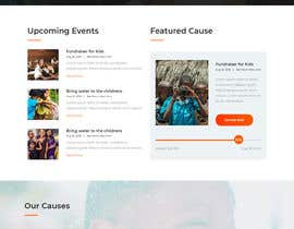 #25 for Design and Word press theme for Charity website by amir499