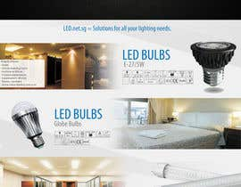 #3 for Advertisement Design for LED lighting products. af patrick12691