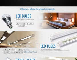 #7 for Advertisement Design for LED lighting products. af patrick12691