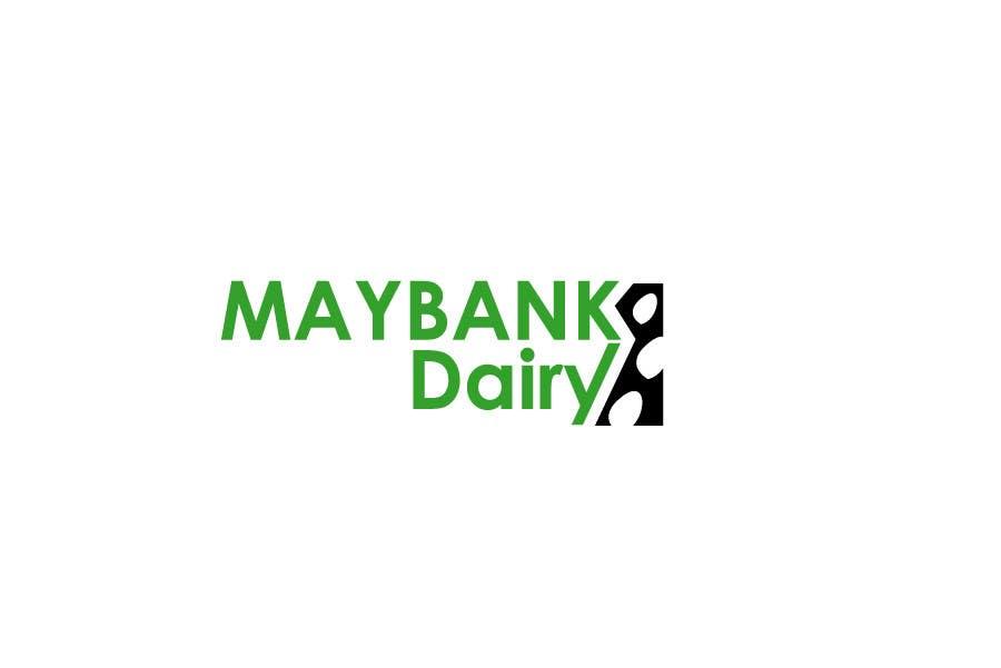 Inscrição nº 17 do Concurso para Logo Design for Maybank Dairy