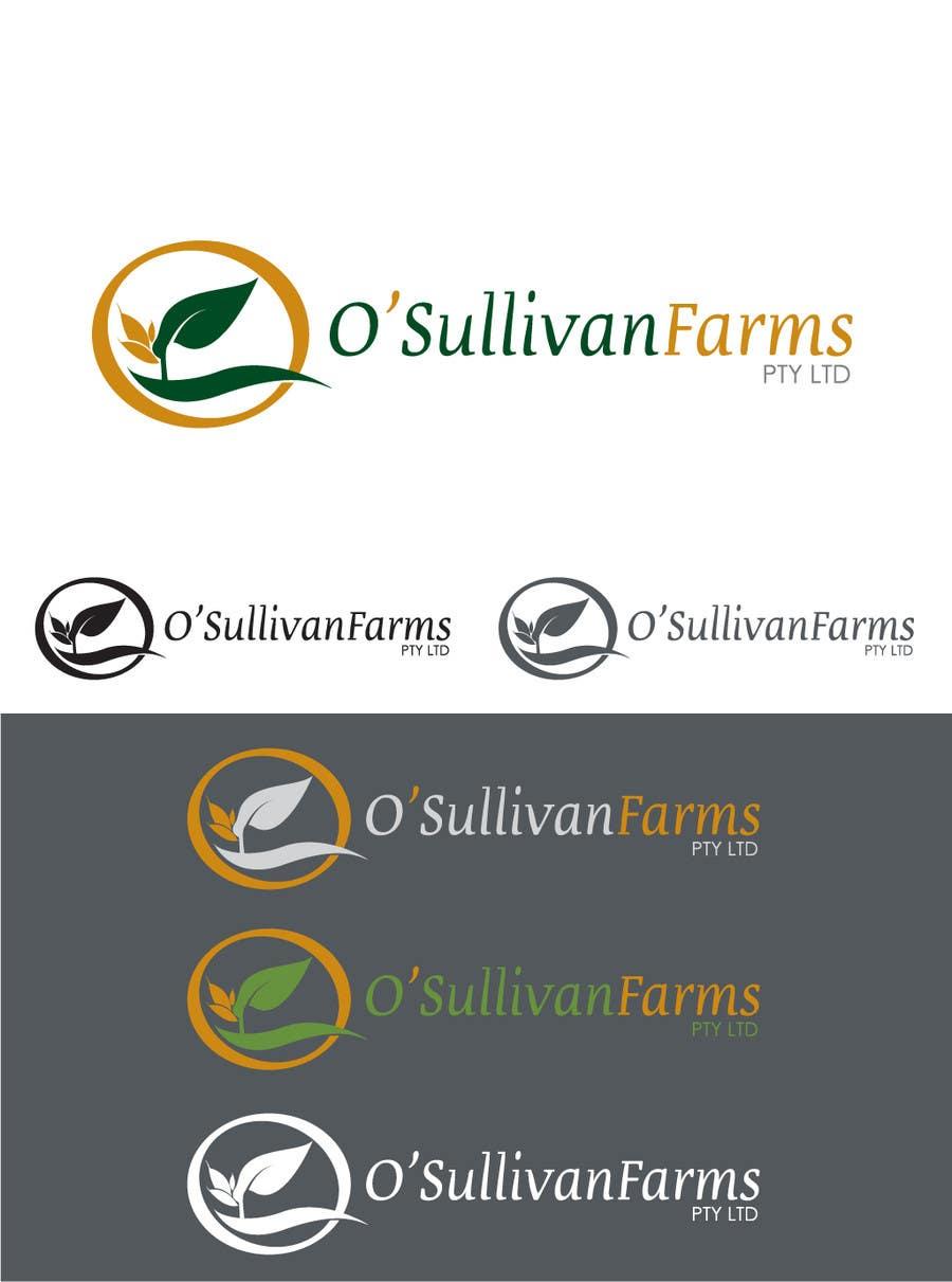Proposition n°                                        114                                      du concours                                         Logo Design for O'Sullivan Farms
