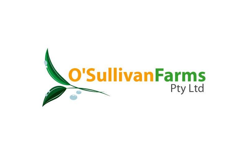 Kilpailutyö #                                        173                                      kilpailussa                                         Logo Design for O'Sullivan Farms