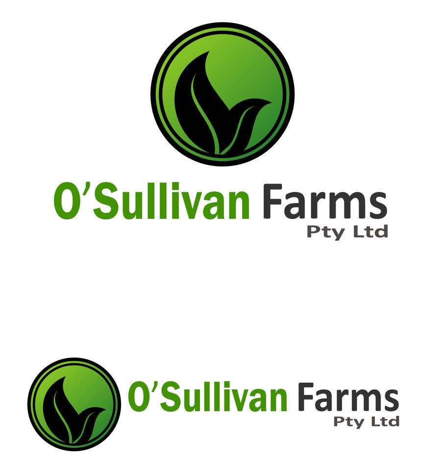 Proposition n°                                        61                                      du concours                                         Logo Design for O'Sullivan Farms