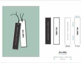 #7 for Develop tags for clothes - present concept, artwork and measurements af studiowework