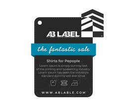 #15 for Develop tags for clothes - present concept, artwork and measurements af kreativewebtech