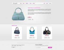 #12 para Website Design for Women's Tote Bags por tania06
